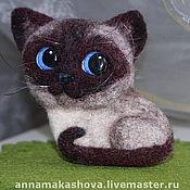 Куклы и игрушки ручной работы. Ярмарка Мастеров - ручная работа Кошка Фишка. Handmade.