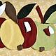 «Яблоки молодильные». Конверт для денег. Самое То. Ярмарка Мастеров.