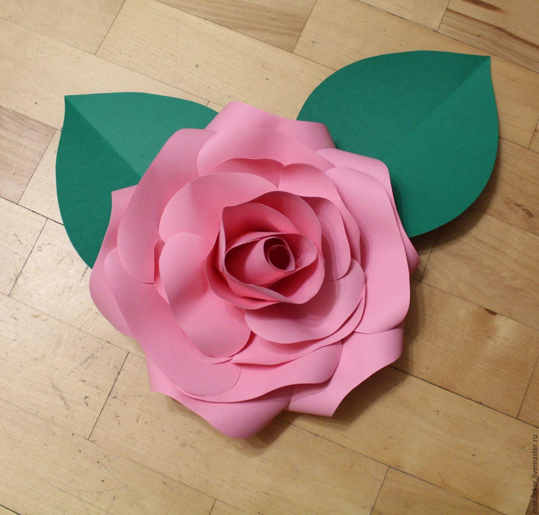 Изготовление роз из бумаги