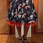 Одежда ручной работы. Ярмарка Мастеров - ручная работа Подъюбник, нижняя юбка, в стиле  50-х.. Handmade.