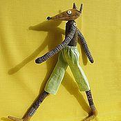 Куклы и игрушки ручной работы. Ярмарка Мастеров - ручная работа Лис Роджер (мягкая игрушка). Handmade.