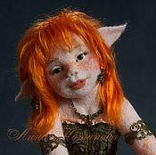 Куклы и игрушки ручной работы. Ярмарка Мастеров - ручная работа Авторская войлочная кукла Эльфийка Анариэль. Handmade.
