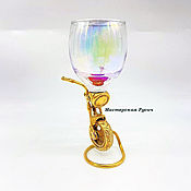 Посуда handmade. Livemaster - original item Shot Glass Biker. Handmade.