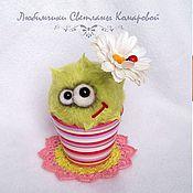 Подарки к праздникам ручной работы. Ярмарка Мастеров - ручная работа Не грусти, на цветочек. Handmade.