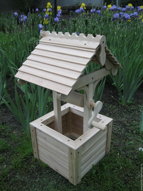 Как сделать деревянный колодец - AtmWood 60