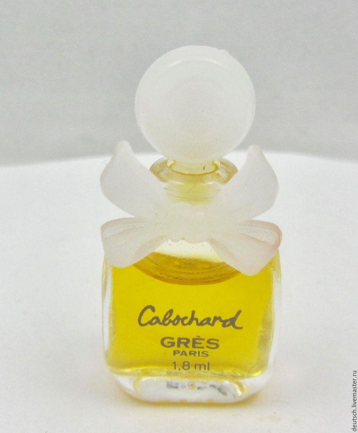 Винтаж: Cabochard GRESS  1,8мл  духи   винтажная миниатюра, Винтажные предметы интерьера, Гамбург, Фото №1