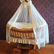 Работы для детей, handmade. Livemaster - original item Cradle stroller