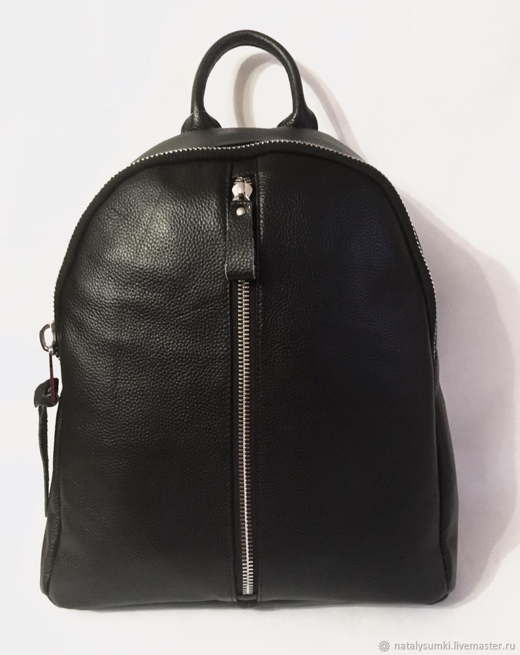 Кожаный рюкзак женский мягкая натуральная кожа, Рюкзаки, Москва,  Фото №1