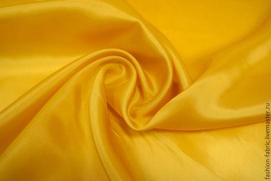 Шитье ручной работы. Ярмарка Мастеров - ручная работа. Купить Подкладочная вискоза желто-оранжевая 8111638 PRT Италия. Handmade.