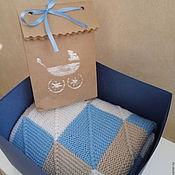 Для дома и интерьера ручной работы. Ярмарка Мастеров - ручная работа Детское пэчворк-одеяло. Handmade.