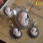 Jewelry Sets handmade. Livemaster - original item Kit cameo