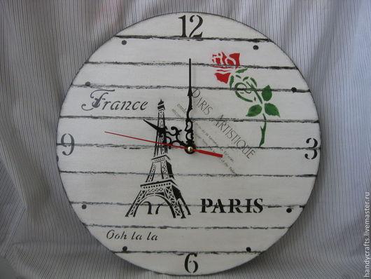"Часы для дома ручной работы. Ярмарка Мастеров - ручная работа. Купить Часы настенные "" French Vintage"". Handmade."