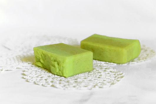 """Мыло ручной работы. Ярмарка Мастеров - ручная работа. Купить Мыло с нуля """"Медовая груша.. Handmade. Зеленый, купить мыло"""