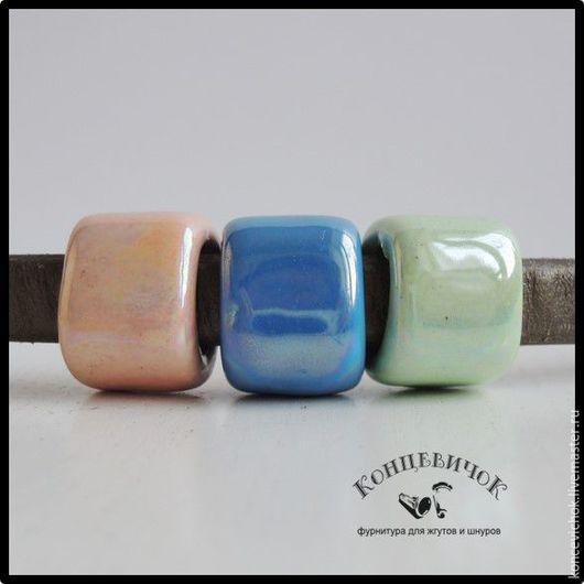 Для украшений ручной работы. Ярмарка Мастеров - ручная работа. Купить Керамика регализ 3 цвета Греция. Handmade. Комбинированный