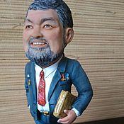 Куклы и игрушки ручной работы. Ярмарка Мастеров - ручная работа Портретная статуэтка. Handmade.