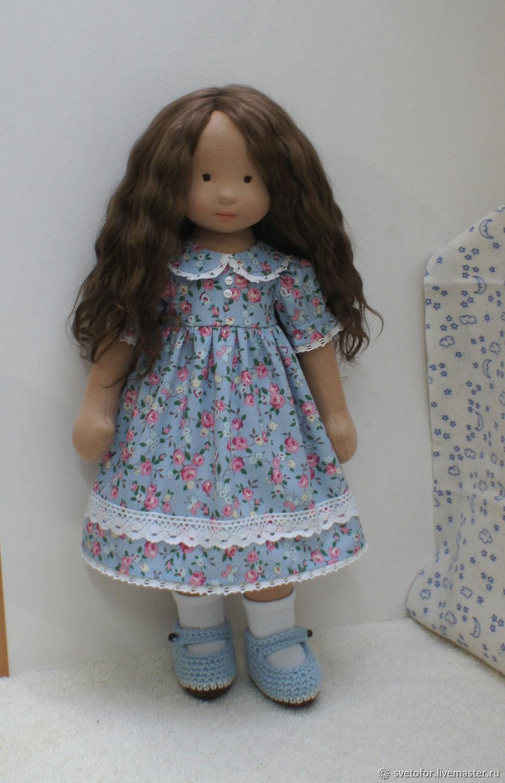 Вальдорфская кукла для Ляли, 44 см, Вальдорфские куклы и звери, Пермь,  Фото №1