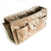Сумки и аксессуары handmade. Livemaster - original item Organizer 6 textile beige. Handmade.
