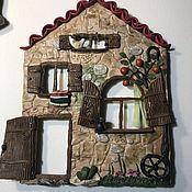 Панно ручной работы. Ярмарка Мастеров - ручная работа Панно: Болгарский домик. Handmade.