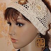 Аксессуары handmade. Livemaster - original item Headband with decor. Handmade.