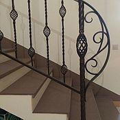 """Перила ручной работы. Ярмарка Мастеров - ручная работа Перила кованые """"Кантри"""" для лестниц и балконов. Handmade."""