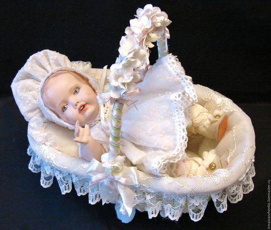 Коллекционные куклы ручной работы. Ярмарка Мастеров - ручная работа. Купить Фарфоровая куколка Hilda ( Германия), авторская коллекционная кукла. Handmade.