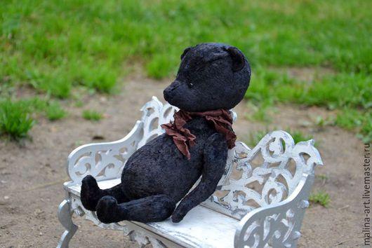 Мишки Тедди ручной работы. Ярмарка Мастеров - ручная работа. Купить Горький шоколад. Handmade. Черный, черный мишка, теддик