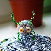 Куклы и игрушки ручной работы. Ярмарка Мастеров - ручная работа Клоп Вовчик. Handmade.