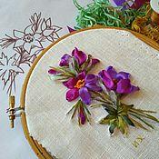 Природа  Схемы вышивки крестом крестиком  Вышивка