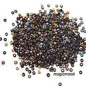 Материалы для творчества handmade. Livemaster - original item 10g Miyuki 15/0 MIX 53 Topaz Japanese seed beads Miyuki round mix. Handmade.