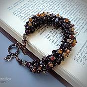 Украшения ручной работы. Ярмарка Мастеров - ручная работа Гранатовый браслет. Handmade.