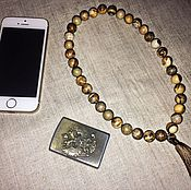 Фен-шуй и эзотерика handmade. Livemaster - original item Beads of landscape Jasper. Handmade.
