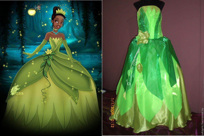 Платье диснеевской принцессы