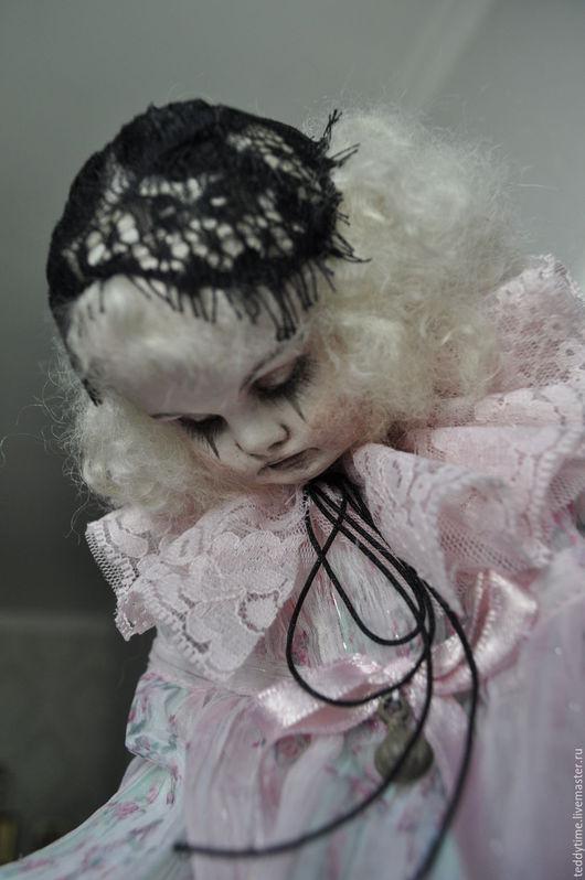 Авторские работы Марии Морозовой. Пьеретта. Дель Арте. Старый театр. Комедианты. Коллекционная кукла.