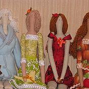 Куклы и игрушки ручной работы. Ярмарка Мастеров - ручная работа Коллекция кукол ВРЕМЕНА ГОДА. Handmade.