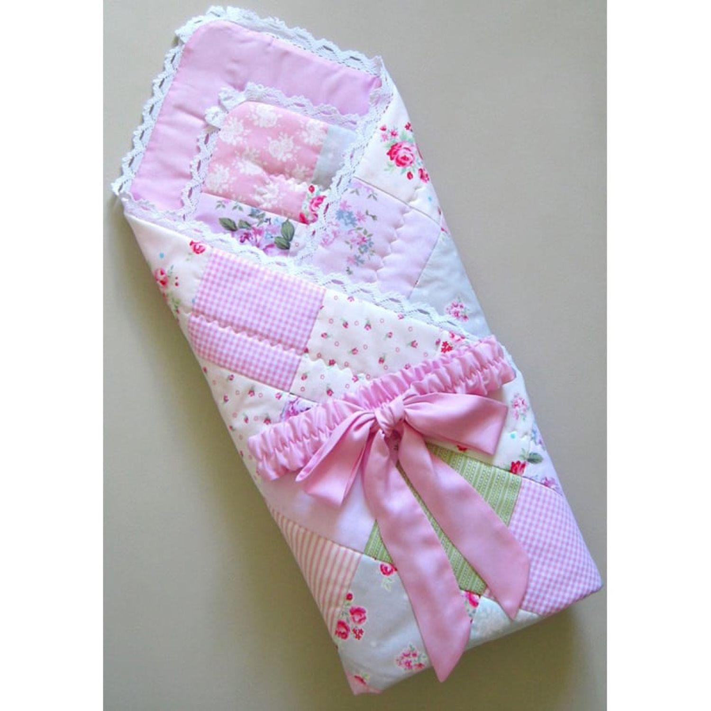 Конверт-одеяло на выписку для новорожденного в лоскутной технике!, Конверты на выписку, Сибай,  Фото №1