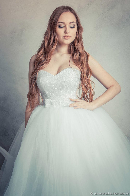ca4fe332f57 Одежда и аксессуары ручной работы. Ярмарка Мастеров - ручная работа. Купить  Пышное свадебное платье ...