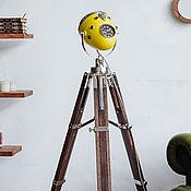 handmade. Livemaster - original item Moto floor lamp in the industrial style of HighWayStar Lemon. Handmade.