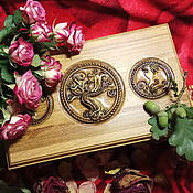 Для дома и интерьера handmade. Livemaster - original item Casket of oak