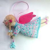 Куклы и игрушки handmade. Livemaster - original item Angel with Teddy bear. Handmade.