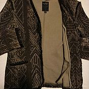 Винтажная одежда ручной работы. Ярмарка Мастеров - ручная работа Жакет, пиджак бохо-шик (Нидерланды). Handmade.