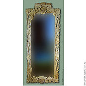 Для дома и интерьера handmade. Livemaster - original item carved frame for a mirror