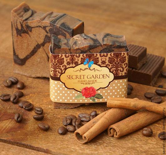 """Мыло ручной работы. Ярмарка Мастеров - ручная работа. Купить Мыло с нуля """"Ирландский шоколад"""". Handmade. Шоколадный, натуральное мыло"""