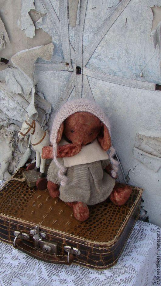 """Мишки Тедди ручной работы. Ярмарка Мастеров - ручная работа. Купить Слоник """" Малышка"""". Handmade. Комбинированный, мишка в одежке"""