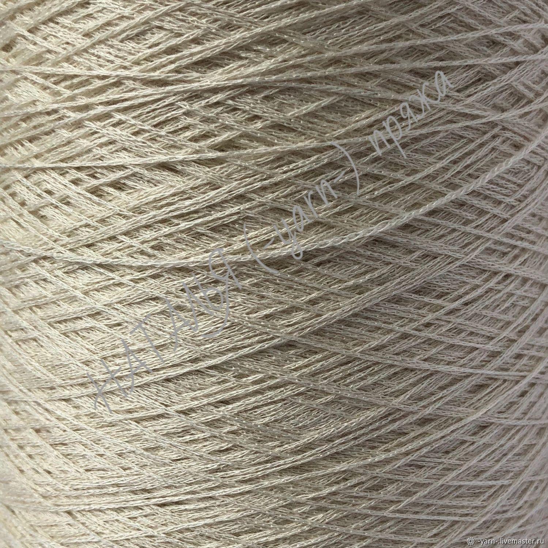 Пряжа Кашемир металл Shining 720м шнурок сливки – купить на Ярмарке Мастеров – JBLBYRU | Пряжа, Санкт-Петербург