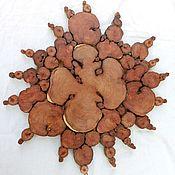 Картины и панно ручной работы. Ярмарка Мастеров - ручная работа Солнечное панно. Handmade.