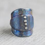 Украшения ручной работы. Ярмарка Мастеров - ручная работа SALE массивное титановое кольцо. Handmade.