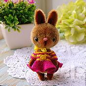 Куклы и игрушки ручной работы. Ярмарка Мастеров - ручная работа Вишня в шоколаде,Зайка Тедди. Handmade.