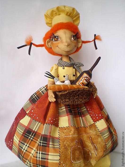 Как сшить куклу для кухни своими руками