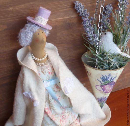 Куклы Тильды ручной работы. Ярмарка Мастеров - ручная работа. Купить Тильда ангел. Handmade. Голубой, прованский стиль, хлопок