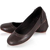 Обувь ручной работы. Ярмарка Мастеров - ручная работа Uluwatu.  Стильные кожаные балетки для дома, офиса, прогулок. Handmade.
